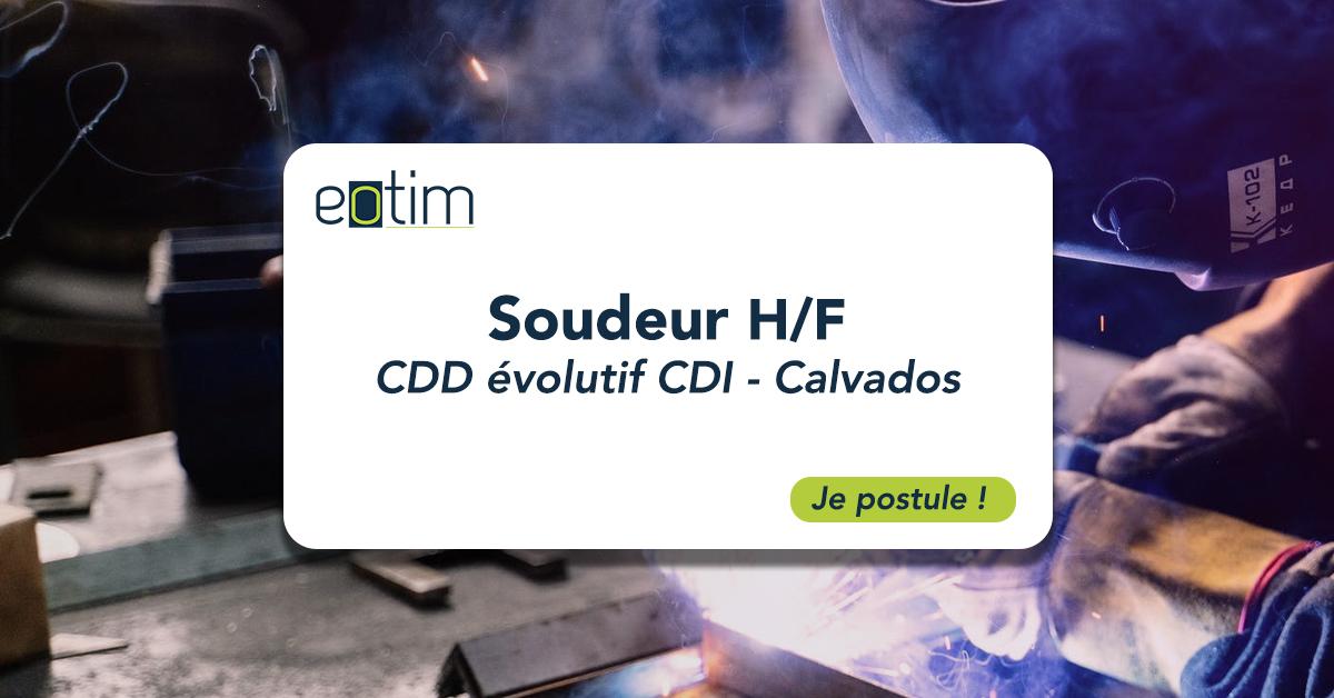Soudeur - acier, inox et aluminium H/F
