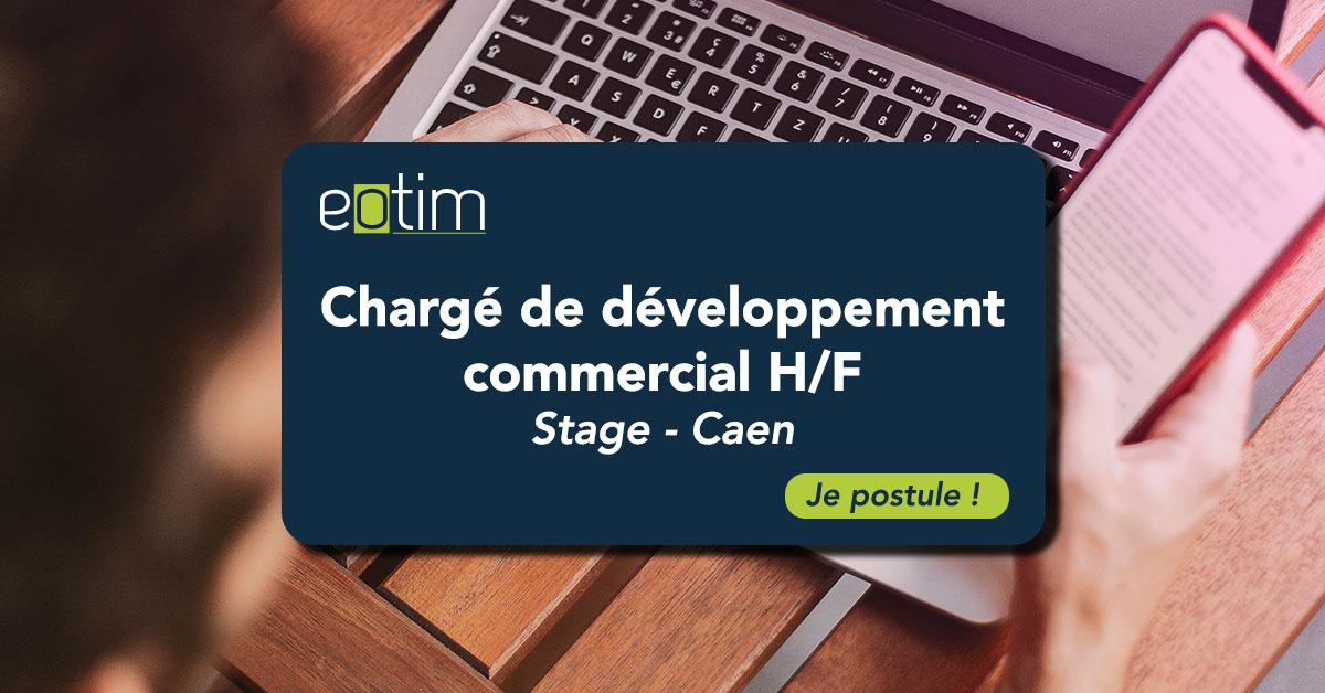 Stage chargé de développement commercial H/F