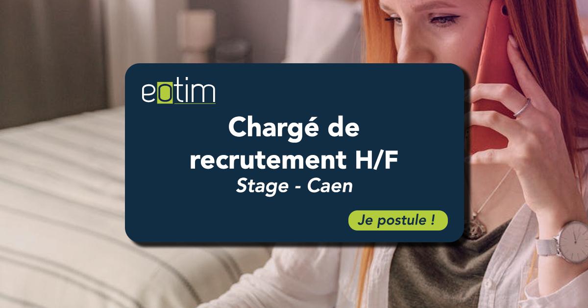 Stage chargé de recrutement H/F