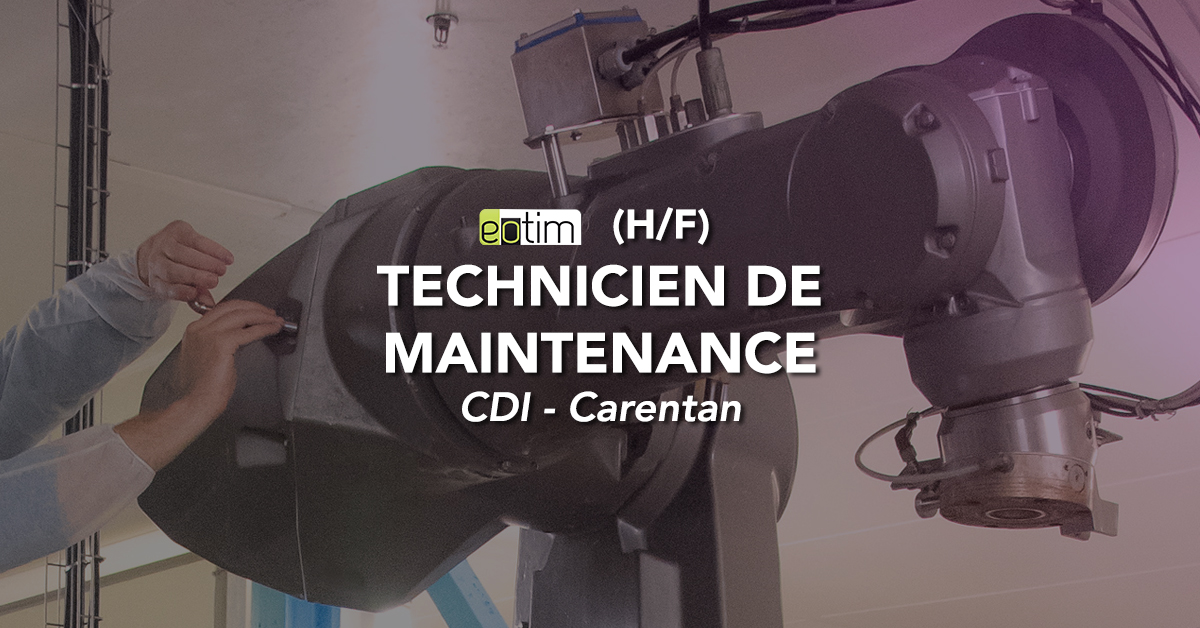 Technicien de maintenance (H/F)