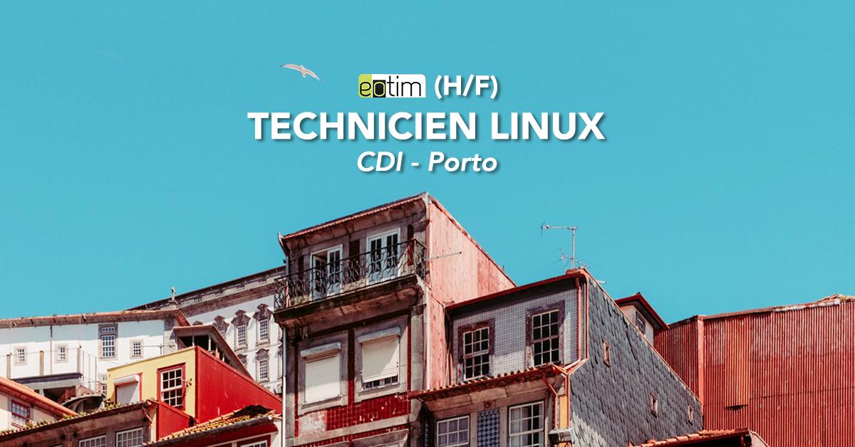 Technicien Linux H/F