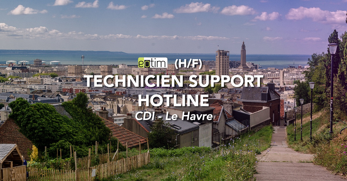 Technicien Support Hotline H/F