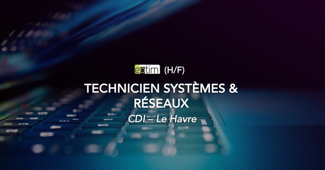 Technicien Systèmes et Réseaux H/F