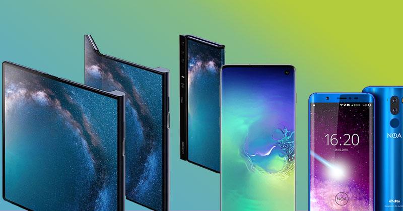 Trois smartphones marquants lors du MWC 2019 !