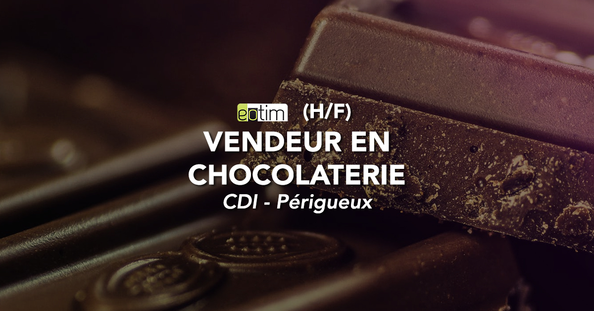 Vendeur en chocolaterie H/F