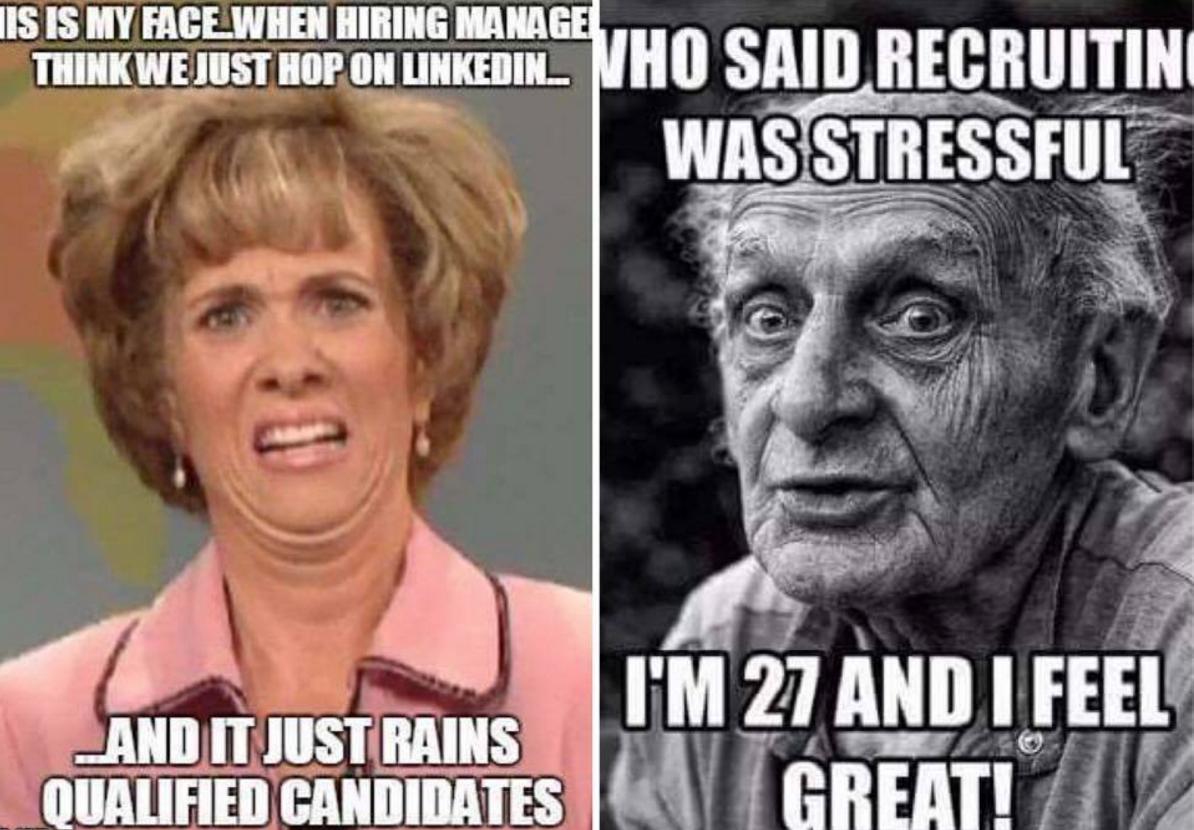 15 memes qui résument parfaitement la vie de recruteur
