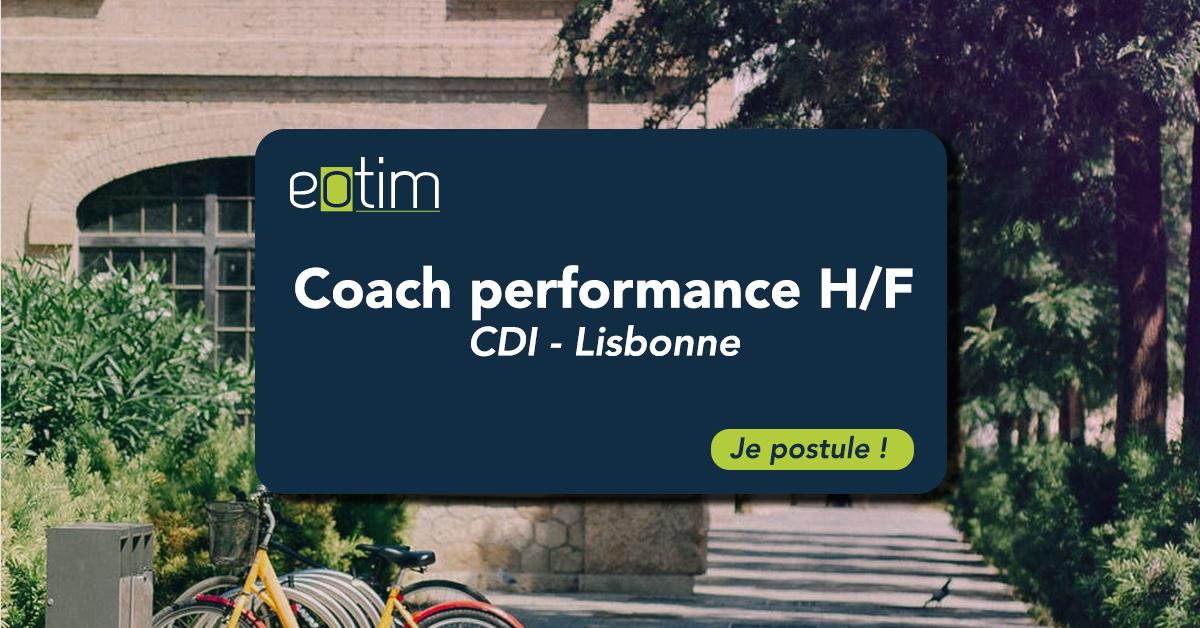 Coach performance H/F