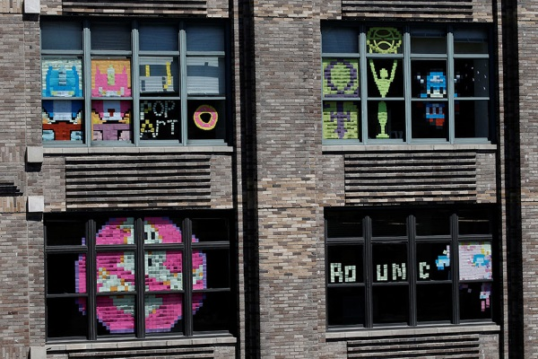 Guerre des post-it : New York ultra-créative !